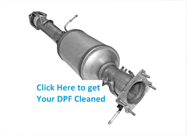 Diesel Particulate cleaning pick up and Return Service